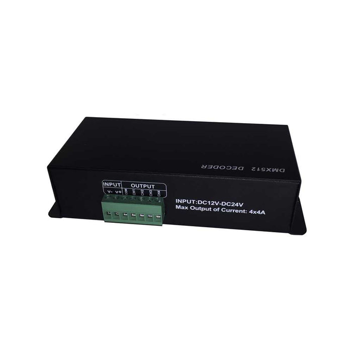 LED RGBW DMX 512 Decoder 4-Channels - Step 1 Dezigns