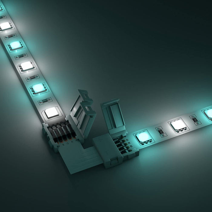 L-Shape LED RGBW Strip Light 5-Pin Connector
