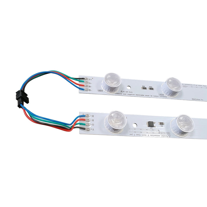 LED RGB LumaStrip Module Light 19 in IP20 - Step 1 Dezigns