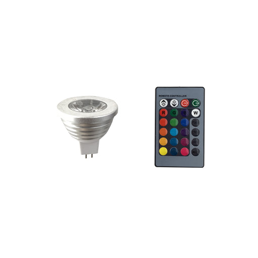 LED RGB MR16 Light Bulb 5 Watt - step-1-dezigns