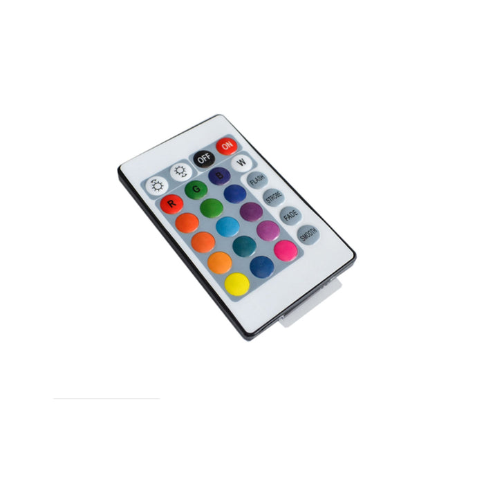 LED RGB Infrared Controller with Remote 24-Keys - Step 1 Dezigns