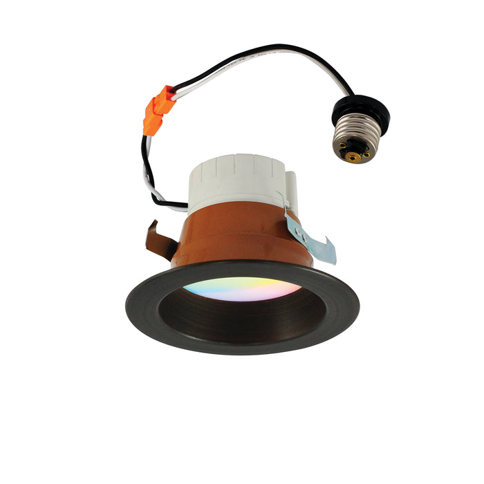 4 in. LED RGBW Prism Smart Downlights - step-1-dezigns