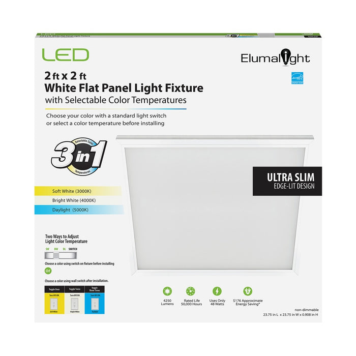 LED CCT Selectable Panel Light 24 in x 24 in - step-1-dezigns