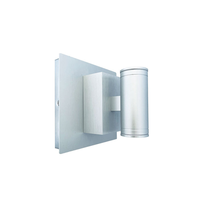 LED Up/Down Cylinder Wall Sconce Light