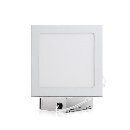 LED Dimmable Square Slim Panel Lights - Step 1 Dezigns