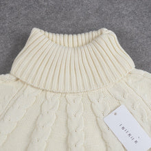 Load image into Gallery viewer, Turtleneck Poncho for kids zara fashion