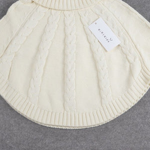 Turtleneck Poncho for kids zara fashion