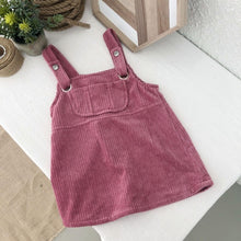 Load image into Gallery viewer, Dungaree Skirt Kids Fashion online shop