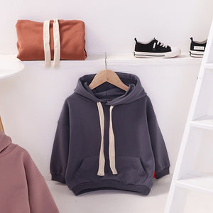 January hoodie cotton materials children's fashion