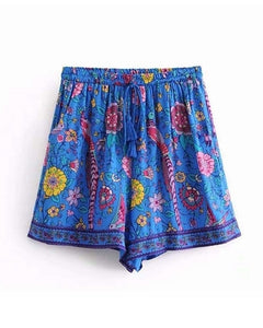A Sea of Flower Shorts