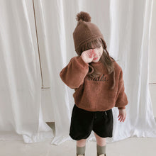 Load image into Gallery viewer, Stylish and warm La La La jumper for kids children's fashion