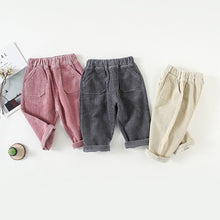 Load image into Gallery viewer, Corduroy Pants Kids Fashion NaKoho zara