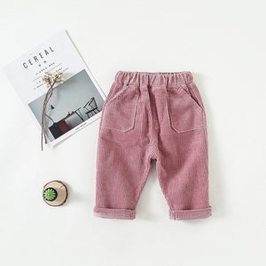 Corduroy Pants Kids Fashion NaKoho zara