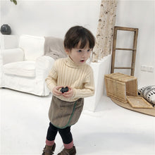 Load image into Gallery viewer, Turtleneck Knit Kids Fashion