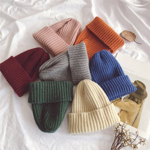 Queens Knitted Hat for kids children's fashion