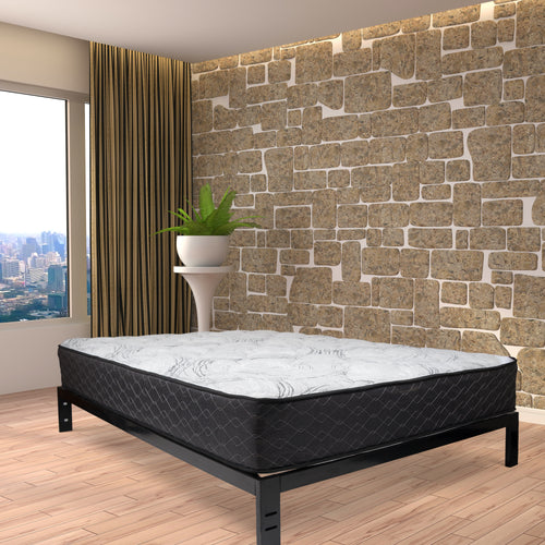 Dual Sleep Mattress set in a room from Wolf Mattress