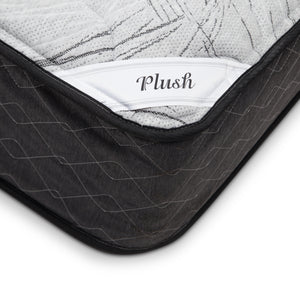 closeup of corner of Dual Sleep Mattress plush side