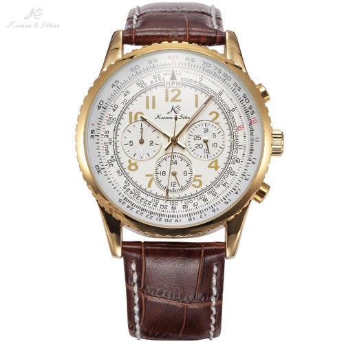 Ks Aviator Mens  Luxury Watch / KS161