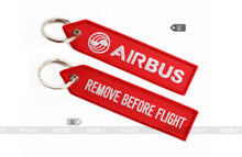 Load image into Gallery viewer, Airbus Logo Luggage Bag Tag  Pink / Red / Blue , Special gift for Aviation Lover Flight Crew Pilot