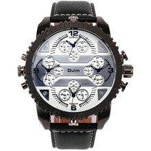 Load image into Gallery viewer, OULM Men's Watches Aviator Military