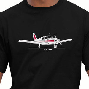Piper PA28 Aircraft Inspired T-Shirt