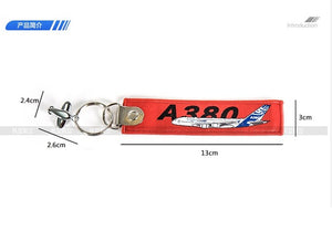 Airbus A380 / A350 / B787  Travel Luggage Tag