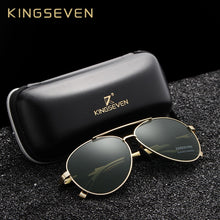 Load image into Gallery viewer, KINGSEVEN Aviation Gun Gradient Sunglasses Brand Men  Polarized HD