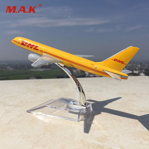 1/400 Scale Diecast  DHL Express Delivery Aircraft Boeing 757-200 B757