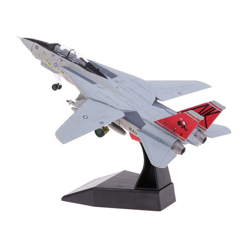 1:100 Scale Alloy US F14 Airplane Aircraft Fighter Toy Model Diecast Plane Model Toy Home Decoration Gift