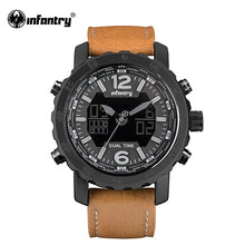 Load image into Gallery viewer, INFANTRY Military Watch Men LED Digital Quartz