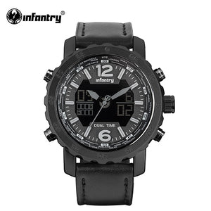 INFANTRY Military Watch Men LED Digital Quartz