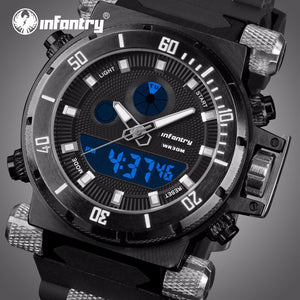 INFANTRY Mens Tactical Aviator Watch for Men
