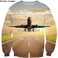 Load image into Gallery viewer, Aircraft Man T Shirt Casual unisex