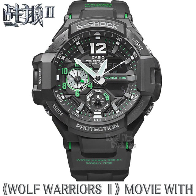 Casio watch G-SHOCK Men's quartz sports watch aviation outdoor waterproof g shock Watch  GA-1100