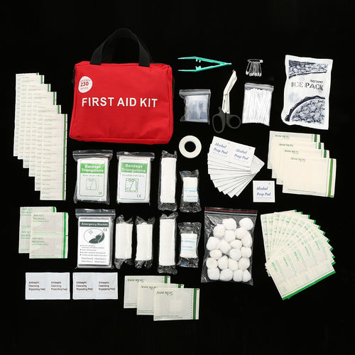 230PCS Safe Travel First Aid Kit