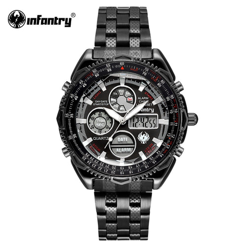 INFANTRY Military Watch Men Digital Quartz