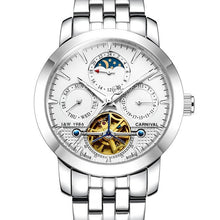 Load image into Gallery viewer, Carnival Aviator Tourbillon Automatic Watch Men