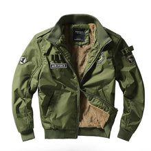 Load image into Gallery viewer, Men Air Force Pilot Bomber Jacket