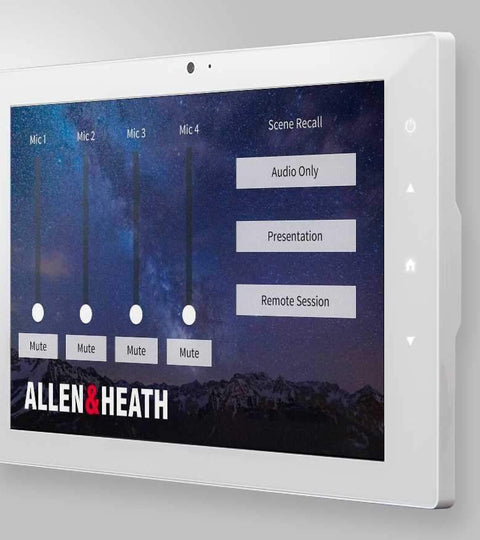 Allen & Heath merges control platforms from Crestron, Extron, and AMX by Harman