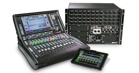 dLive system is a new compact gear from Allen & Heath