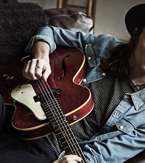 James Bay on the Epiphone Centurys and 'blagging being a singer songwriter'