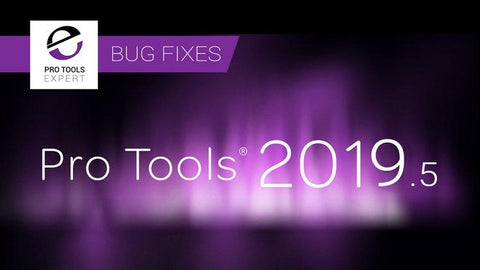 Pro Tools 2019.5 is the newest software of Avid