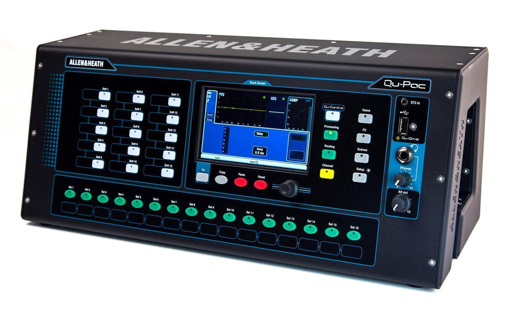 Qu-Pac Digital Mixer Launched By Allen & Health