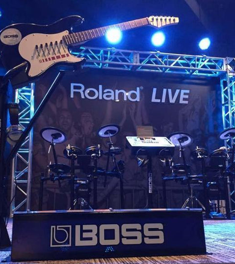 Roland LIVE—Ready to rock the GRAMMY Museum