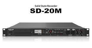 SD-20M: Affordable Solid State Recorder that Features Mic Preamps