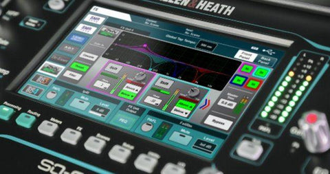 V1.4 firmware of Allen & Heath is newly released for its SQ Series mixers