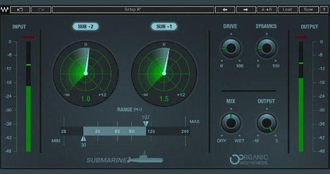 Waves Submarine is a new plugin release by Waves Audio