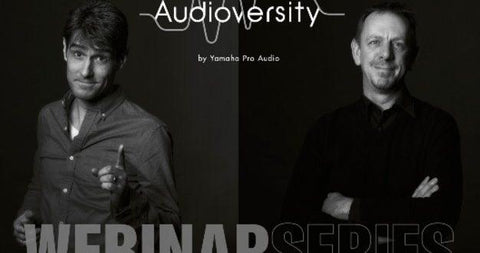 Yamaha's New Series of Audioversity Webinar for Music Enthusiasts