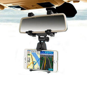 Rear View Universal Cell Phone Holder