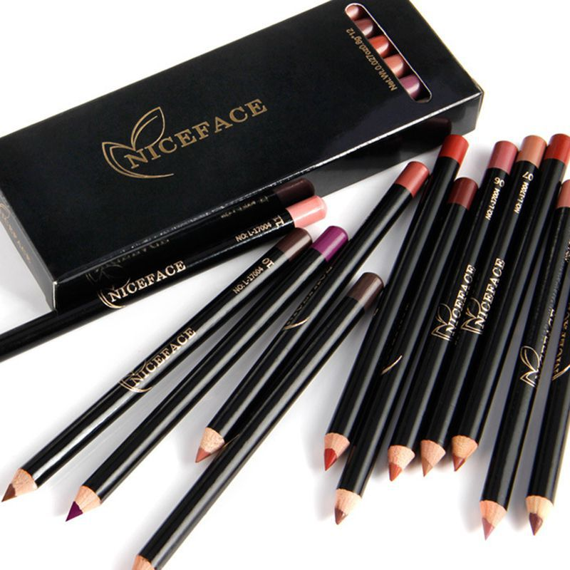 Professional Set Matte Lip Liner Pencil Waterproof - makeupwinner